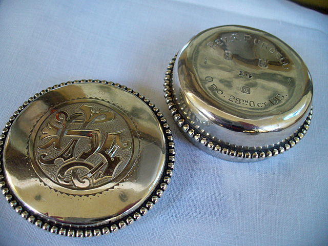 Fr Timothy Purcell's pyx