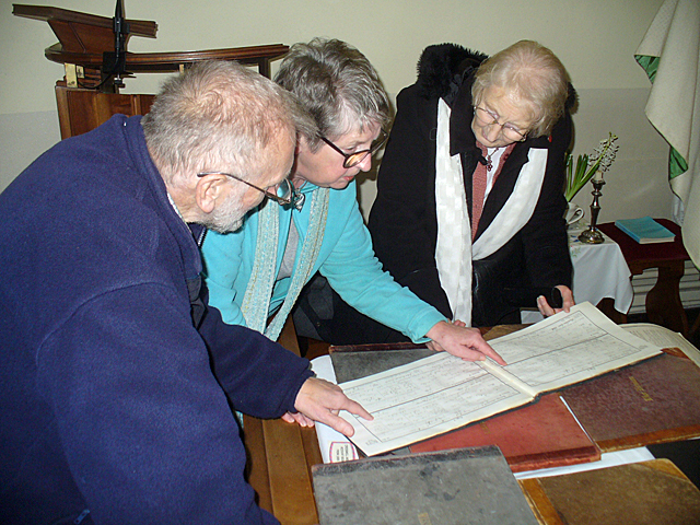 looking at old registers